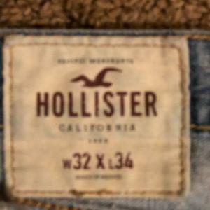 Hollister jeans 32/34 straight leg